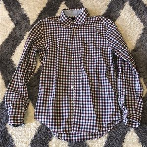 American Eagle AE Classic Fit Button Dress Shirt